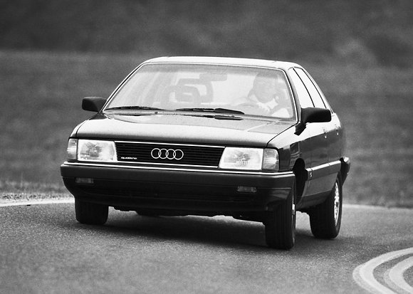 Rear shock absorbers Audi 100 Quattro from 1988