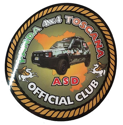 Sticker Club A.S.D Panda