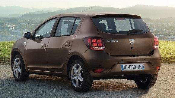 Rear shock absorbers Dacia Sandero since 2008