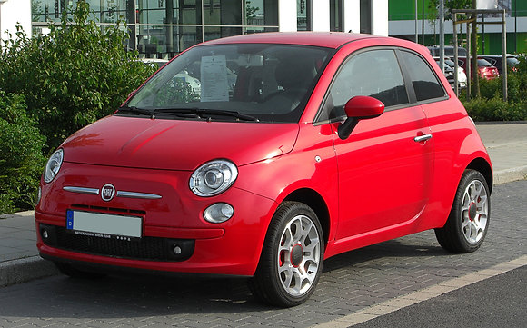 Front shock absorbers Fiat 500 Gasoline type 150 since 2007
