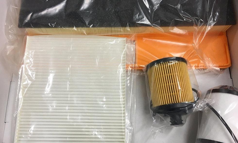 Kit filtri panda 4x4 e 1.3MJ gasolio, seconda serie 169