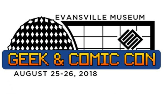 Signing at Evansville Museum Geek & Comic Con