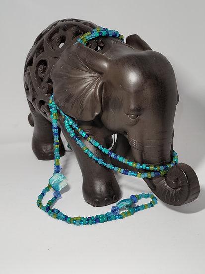 Ocean's Blue Waist Beads