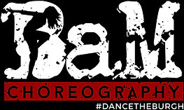 BaM Choreography Logo - Virtual Dance Class & Wedding Choreography