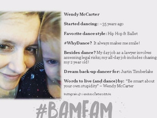June 2018 #BaMFaM Spotlight: Wendy McCarter