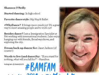 May 2018 #BaMFaM Spotlight: Shannon O'Reilly