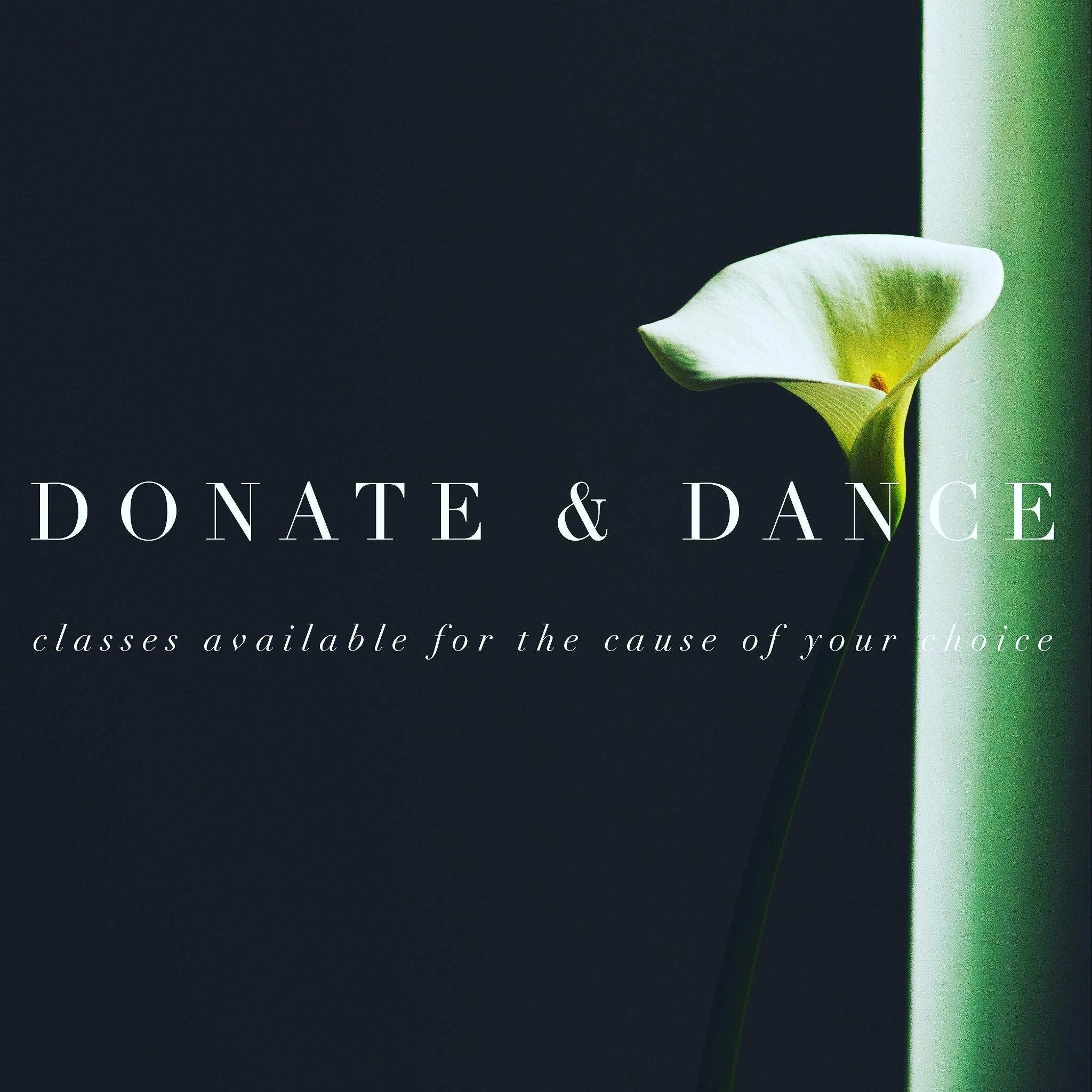 Donate & Dance
