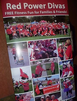 Red Power Divas - Free fitness for everyone