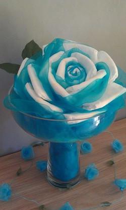 rose de couches géante