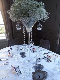 table fleur