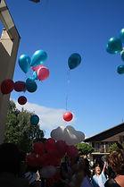 lacher ballons hélium mariage