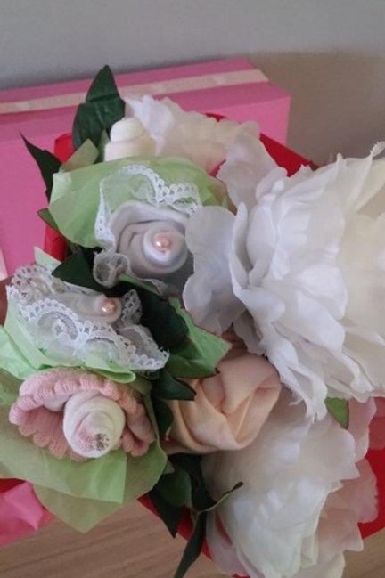 bouquet de layettes géant