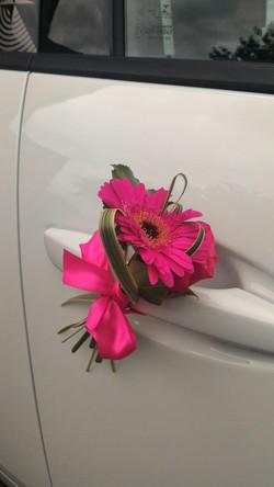 décoration poignée de voiture