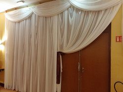 rideau coté entrée salle