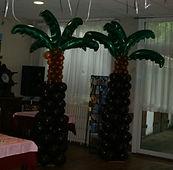 palmier ballons