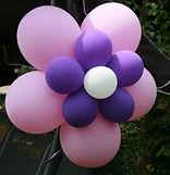 fleur en ballon double pétale