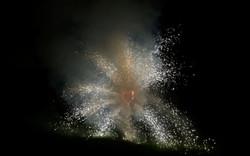 feu artifice coeur géant