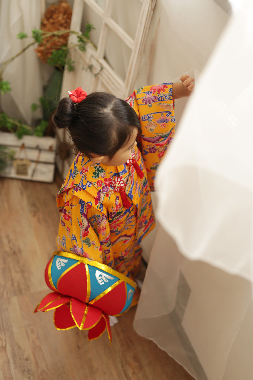 3歳 琉装