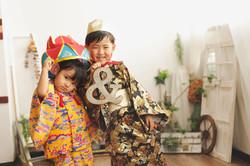 3歳(女の子)5歳(男の子)琉装