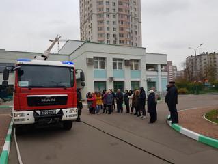 Учения по Гражданской обороне и пожарной безопасности.