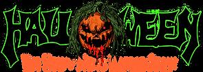 Halloween Name only Vector Shirt Green.p