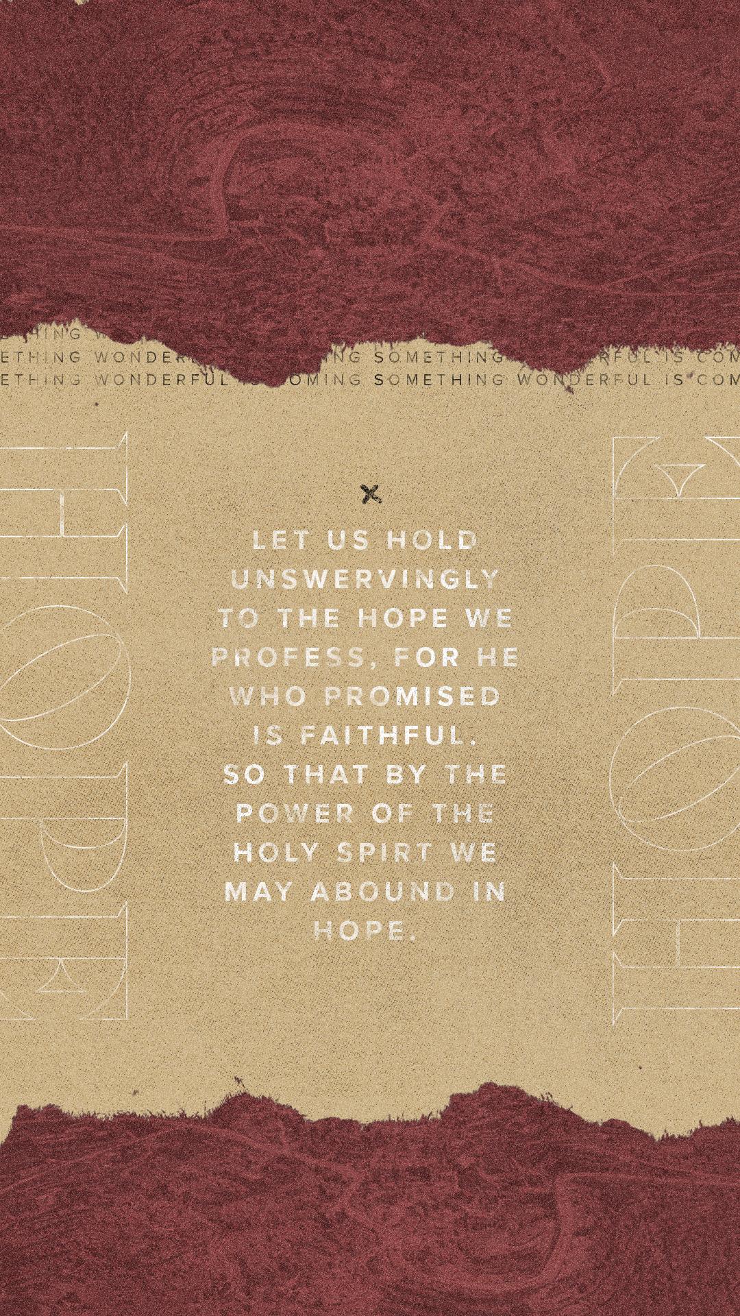 Advent / Hope
