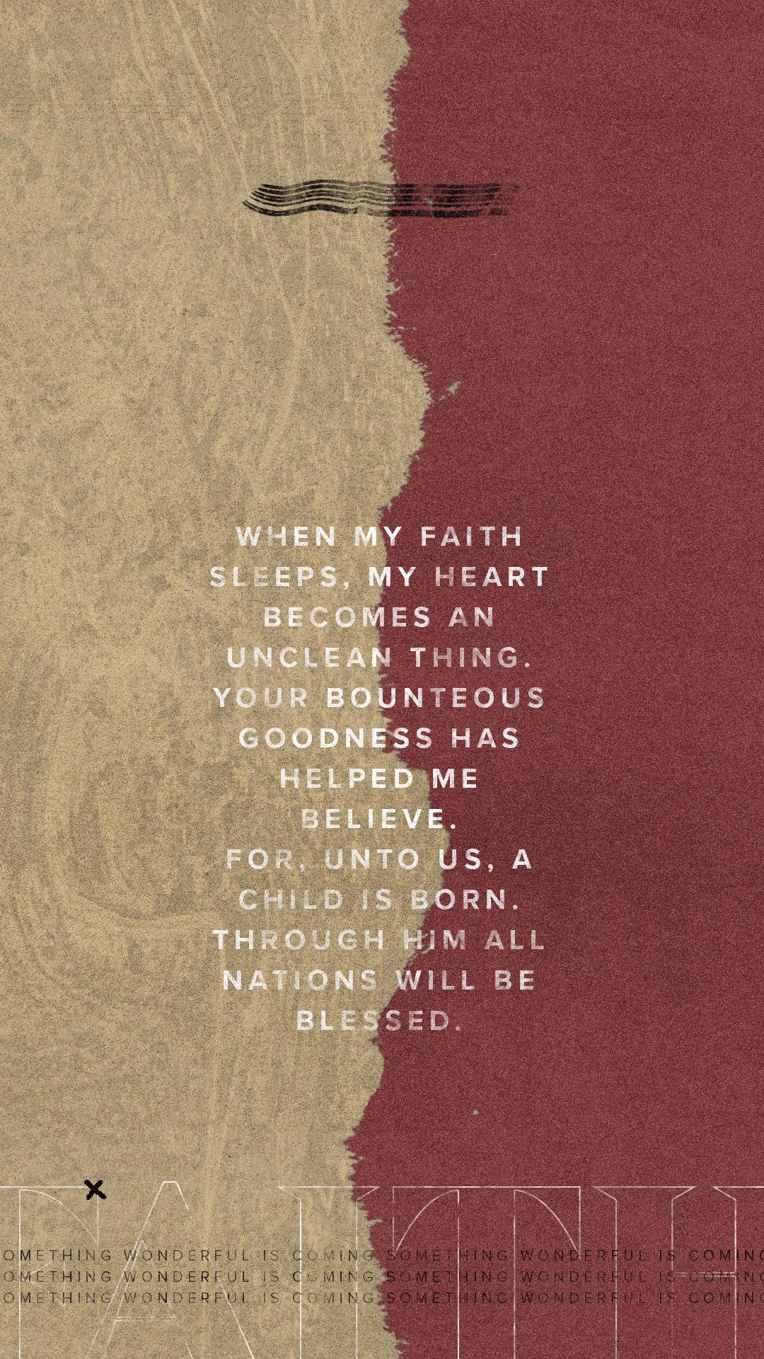 Advent / Faith