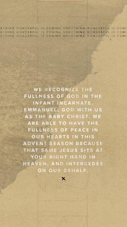 Advent / Peace