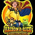 Arizona Rick the Balloon Cowboy logo.