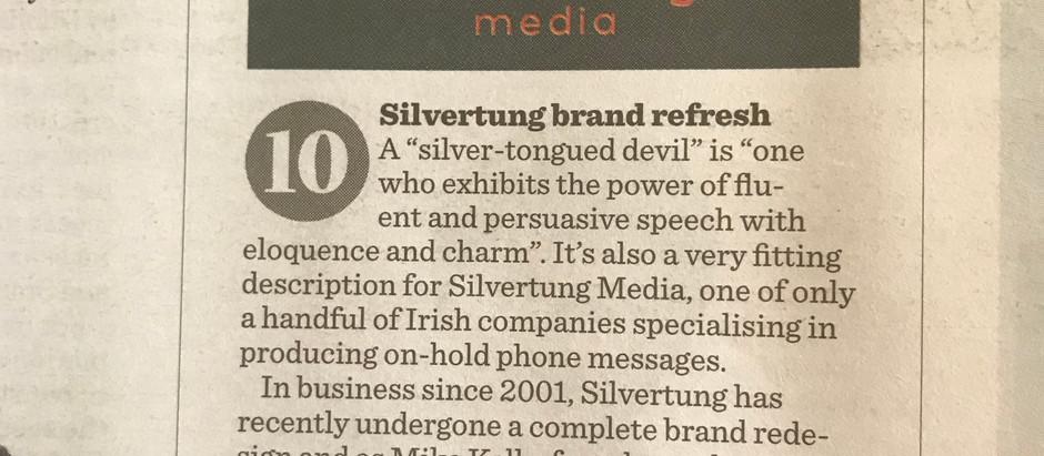 Silvertung feature in the Irish Times Business Ireland Magazine