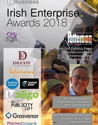 Silvertung win an EU Irish Enterprise Award
