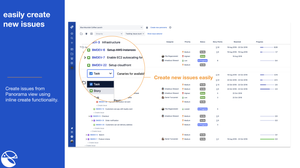 monitor progress with a Jira issue hierarchy structure