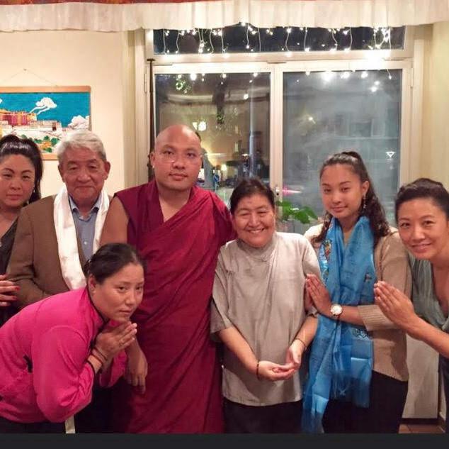 He's Holiness the Karma-pa @ Shangrila Tibet Restaurant