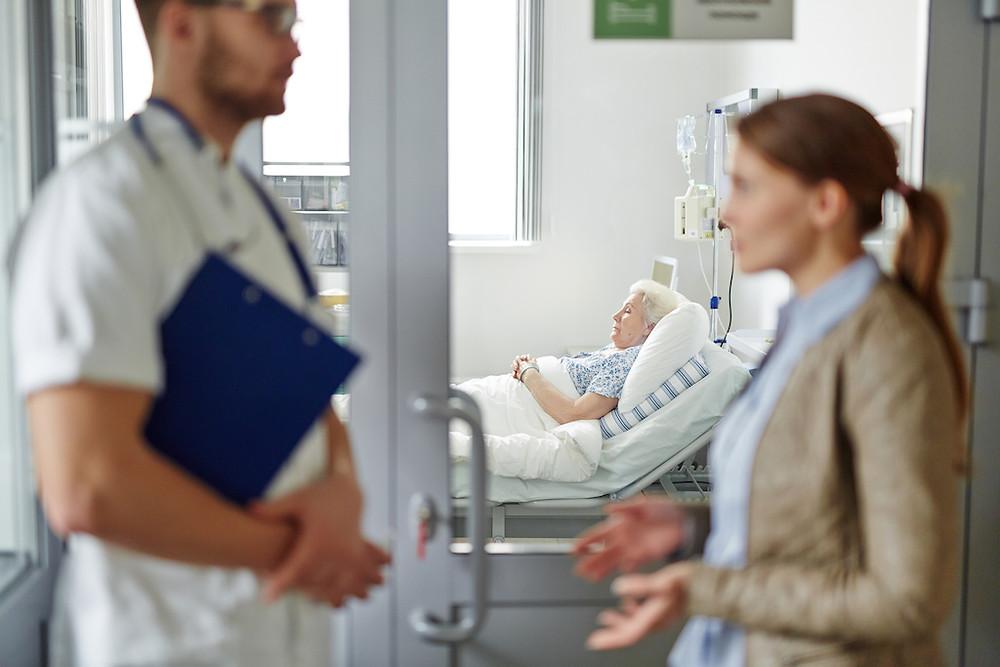 Die Entlassung eines pflegebedürftigen Menschen aus dem Krankenhaus