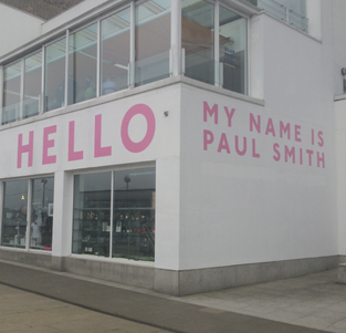 'Hello, my name is Paul Smith'