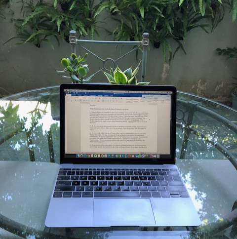 MAKE WORK-FROM-HOME WORK