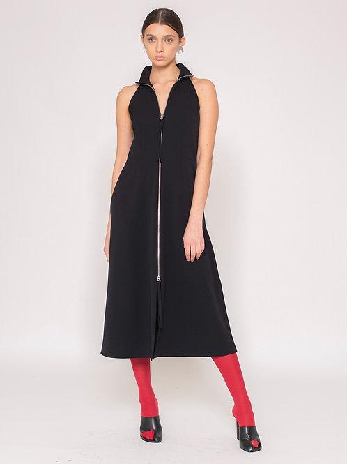 Vestido Clea Preto (Sob Encomenda)