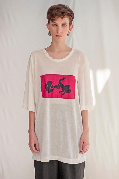 Camiseta Leona Estampada