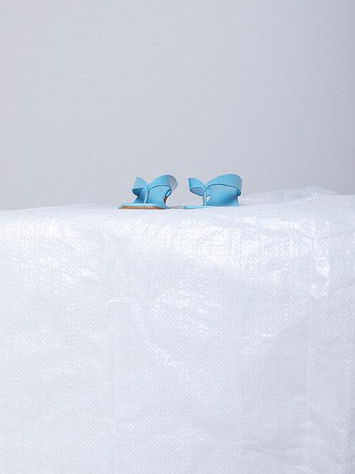 Chinela Tilda Azul  (Sob Encomenda)
