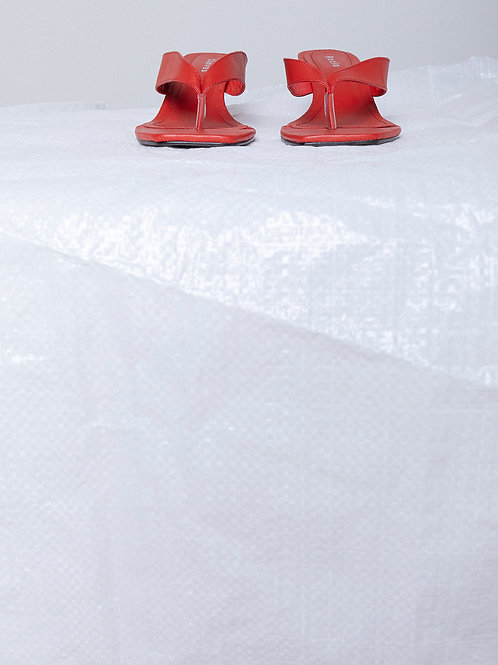 Chinela Tilda Vermelha (Sob Encomenda)