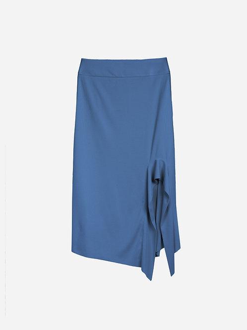 Saia Alisson Azul Jeans