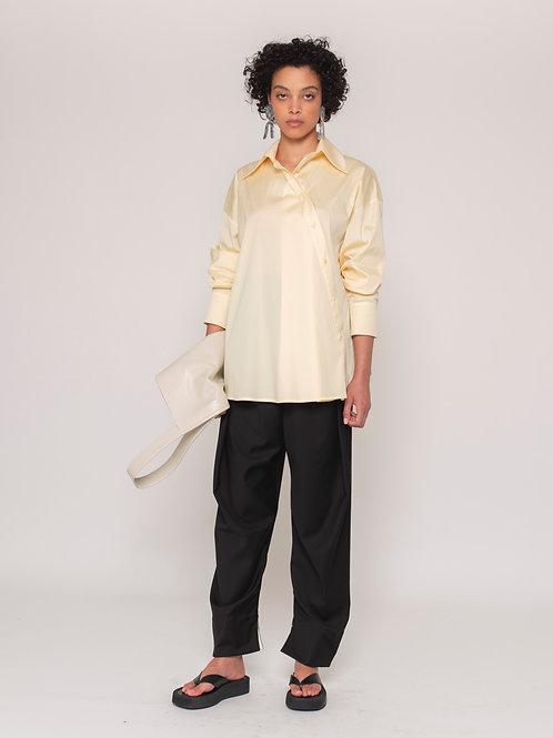 Camisa Rina Amarelo (Sob Encomenda)