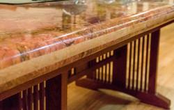 Layered Granite Tabletop