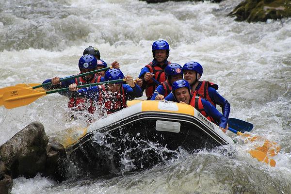 Rafting Les Angles