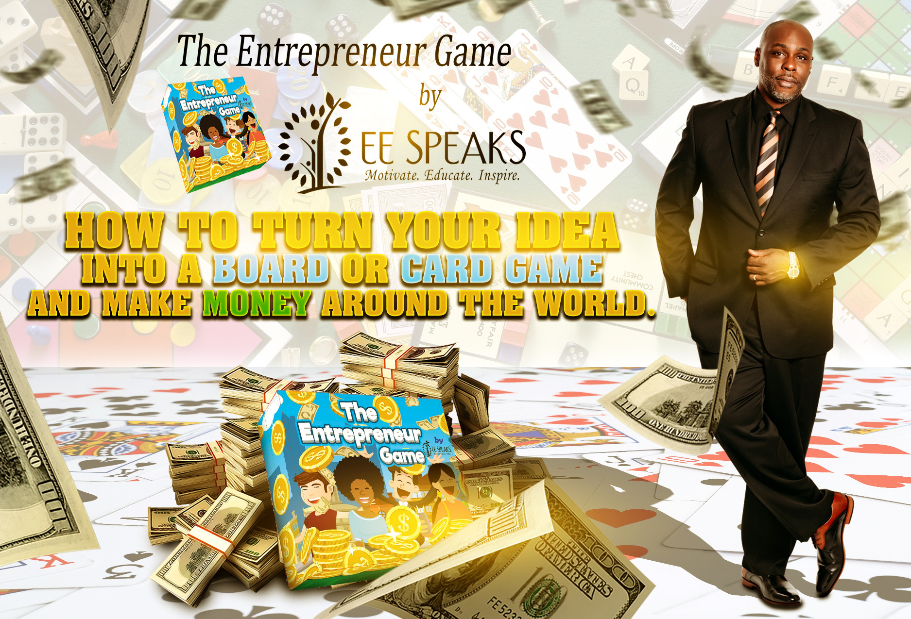 Learn how to turn your idea into a game.