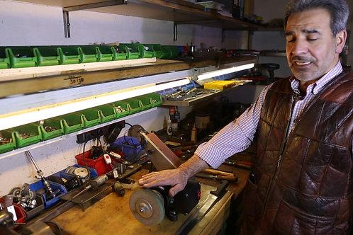 Bantlı ve Keçeli Bıçak Bileme Makinesi