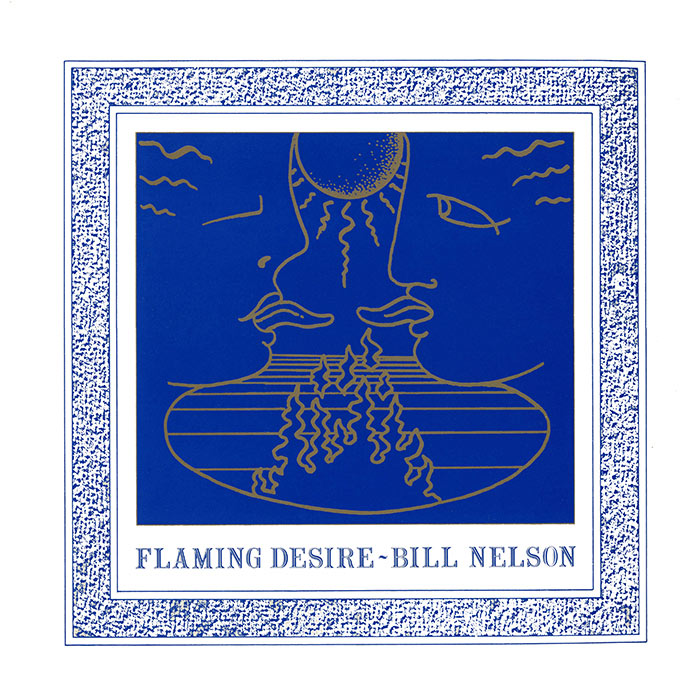 """Flaming Desire 12"""" - Cover"""