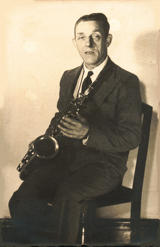 Dad With Sax