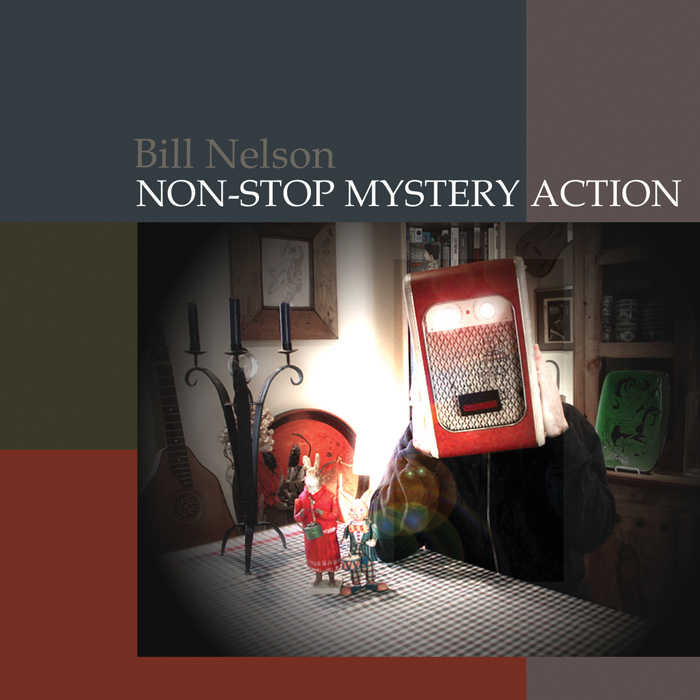 Non-Stop Mystery Action - Cover