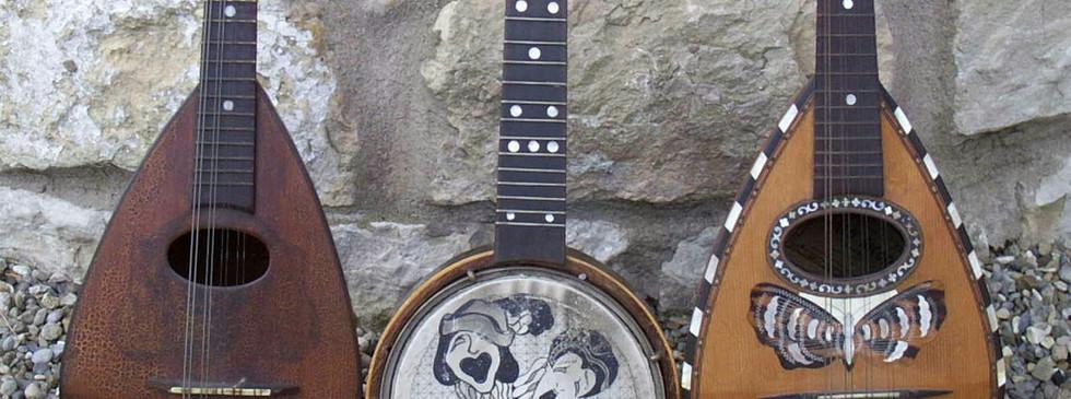 Mandolins & Banjolele